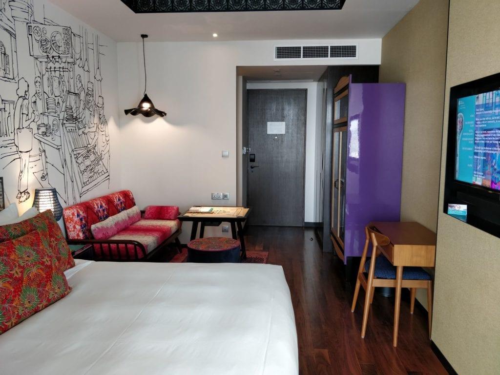Hotel Indigo Singapur Katong Zimmer