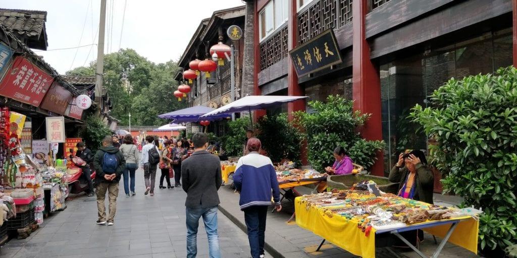 Jinsi Straße Chengdu