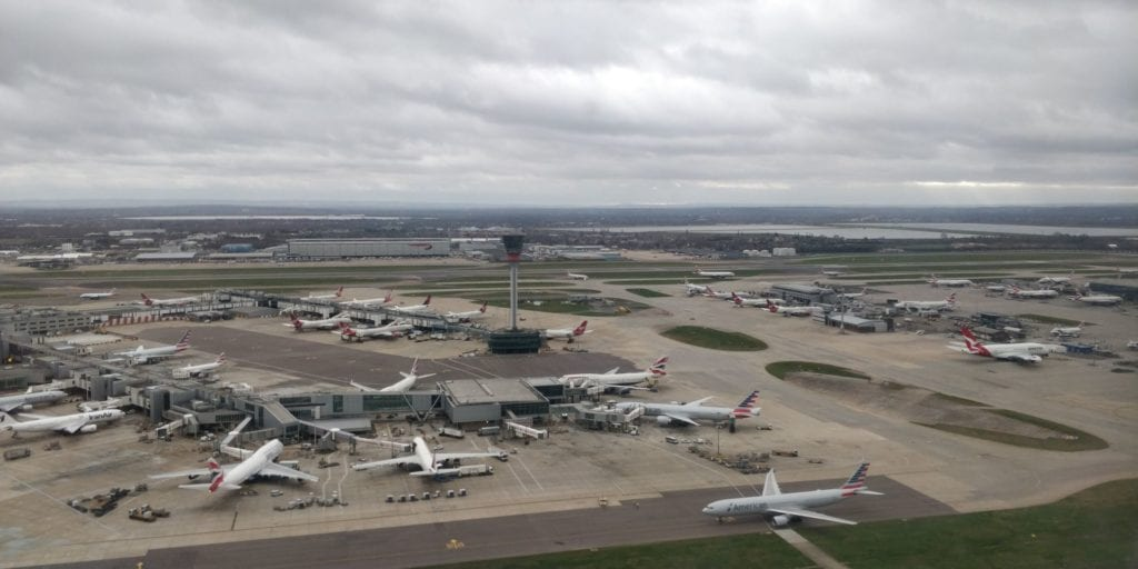 London Heathrow Airport Flugzeuge lhr slot