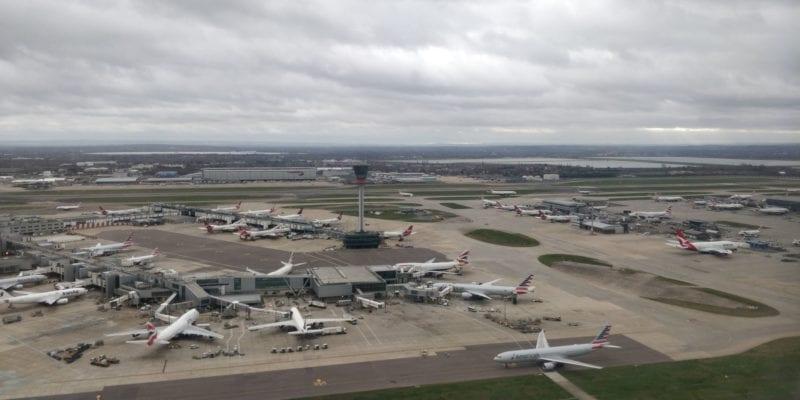 London Heathrow Airport Flugzeuge