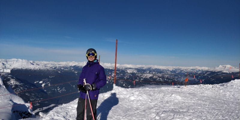 Moritz Stoldt Ski Fahren Whistler Kanada