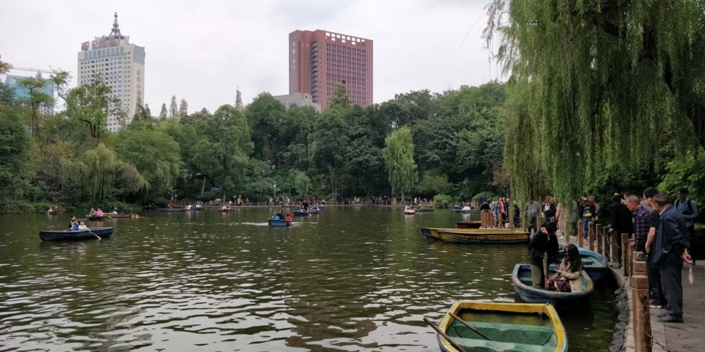 Peoples Park Chengdu