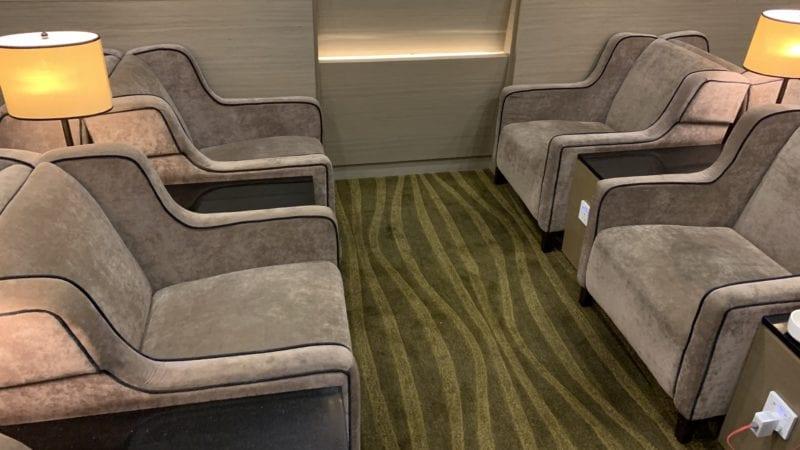 Plaza Premium Lounge Penang Sitze 1