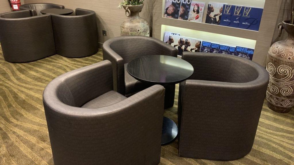 Plaza Premium Lounge Penang Sitze 2