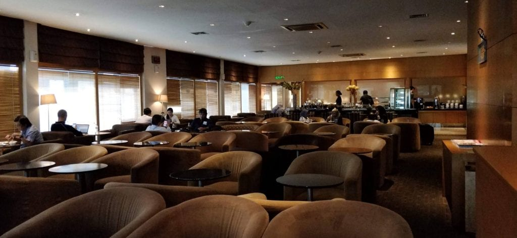 Pura Indah Lounge Jakarta Layout 2