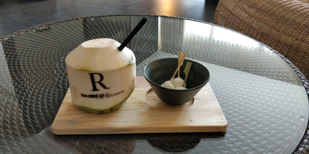 Renaissance Bali Uluwatu Willkommensgeschenk