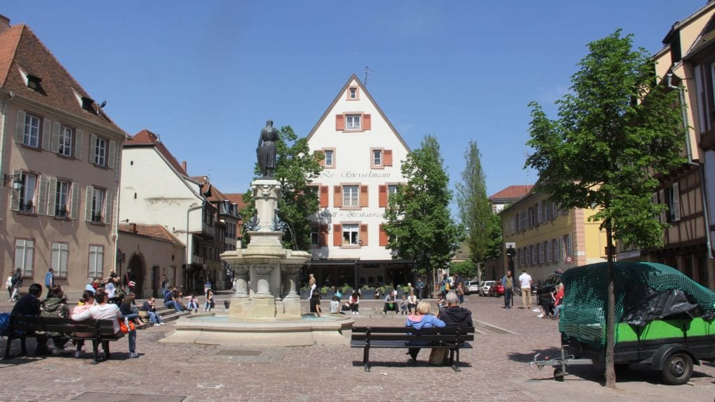 Roesselmann Fountain Colmar