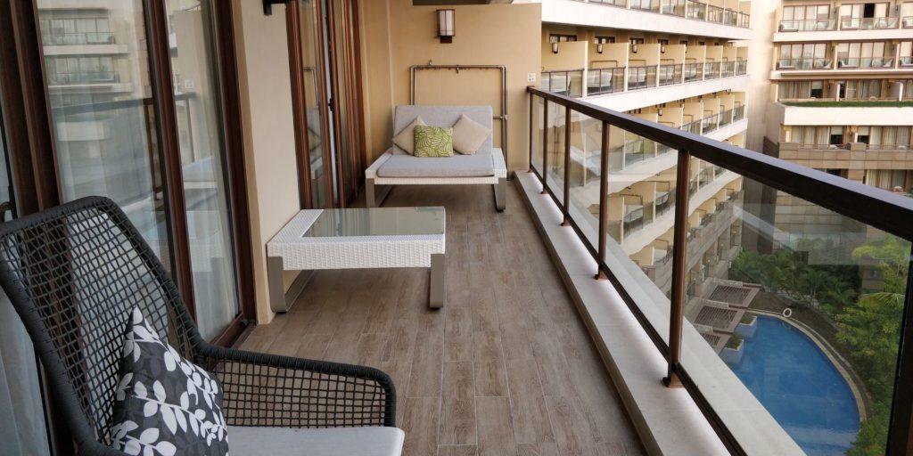Sanya Yazhou Bay Resort Balkon