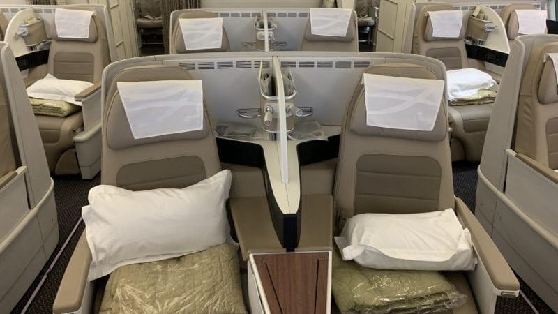 Saudia A330 Business Class Kabine 3