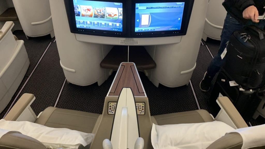 Saudia A330 Business Class Kabine 4