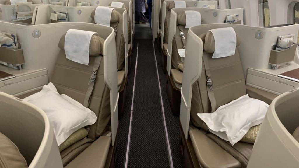 Saudia B789 Business Class Kabine 6