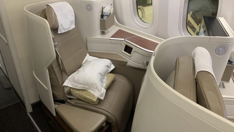 Saudia Business Class B787 9 Sitze 2
