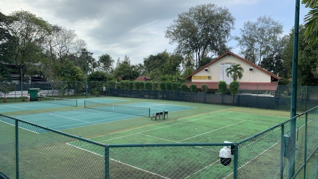 Shangri La Rasa Sayang Resort Penang Tennis