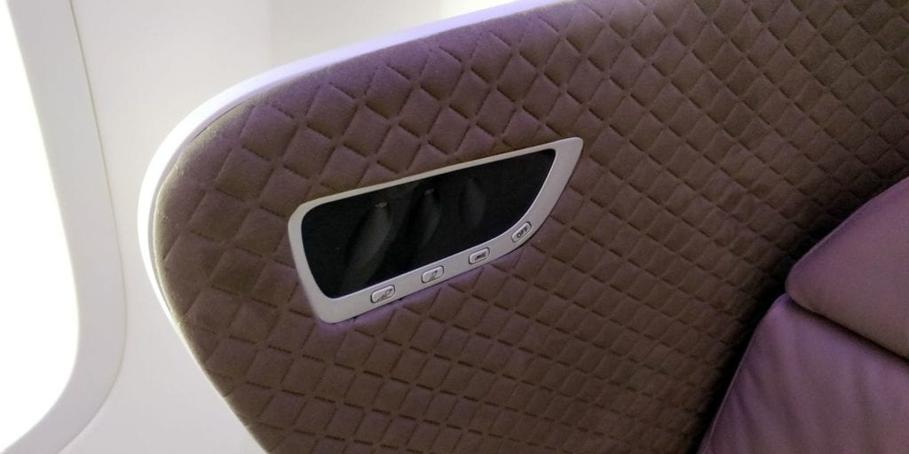Singapore Airlines Business Class Boeing 787 10 Details