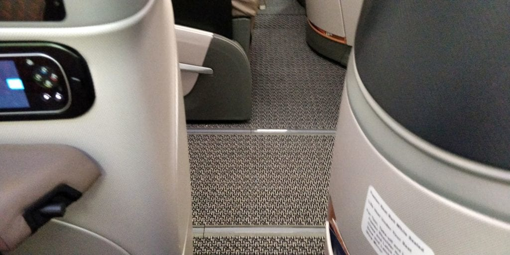Singapore Airlines Business Class Boeing 787 10 Details 4