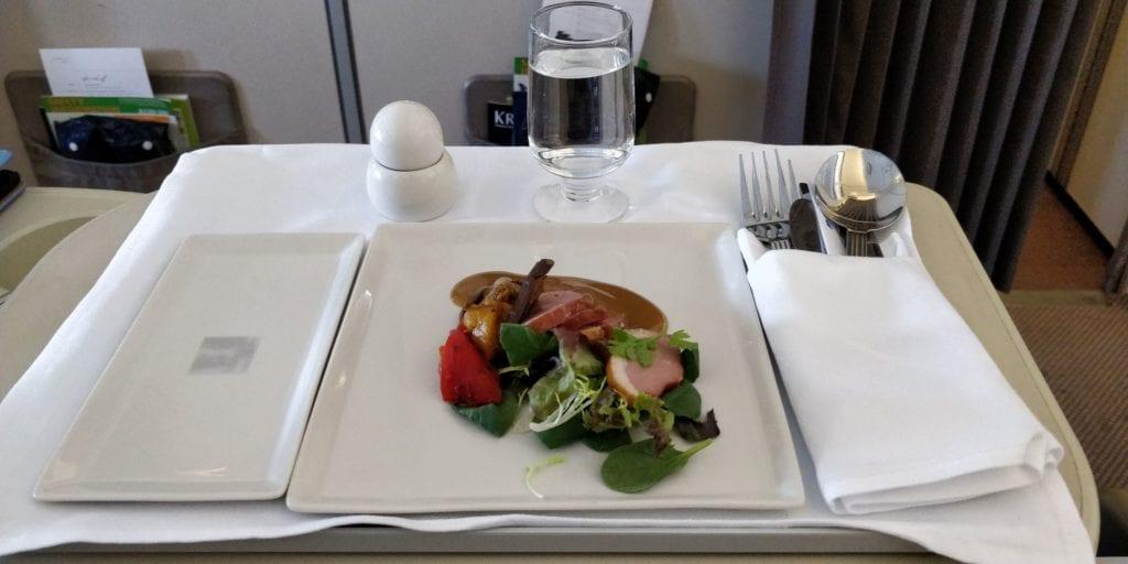 Singapore Airlines Business Class Mittelstrecke Essen