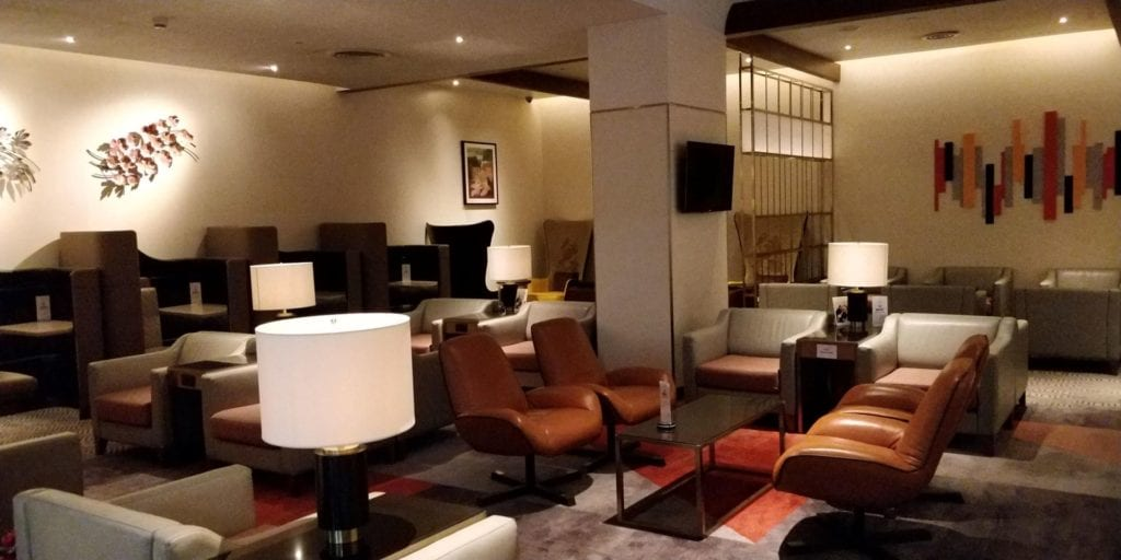 Singapore Airlines SilverKris Lounge Bangkok Layout 1