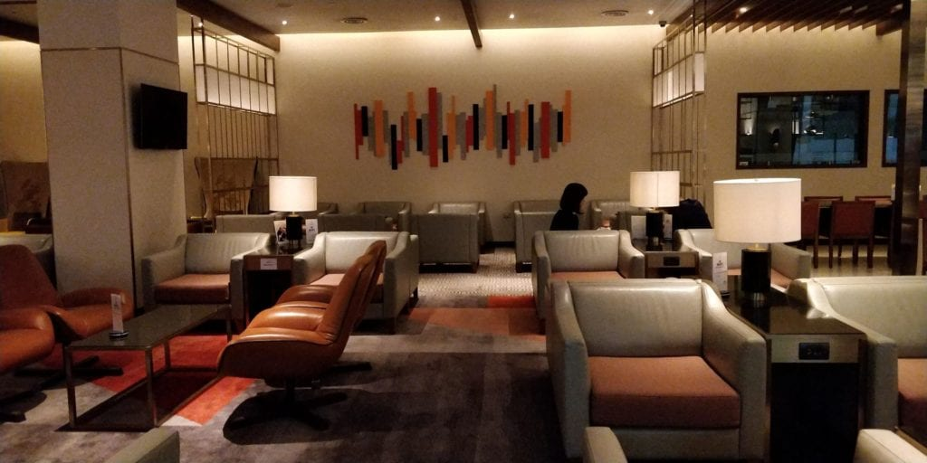 Singapore Airlines SilverKris Lounge Bangkok Layout 2