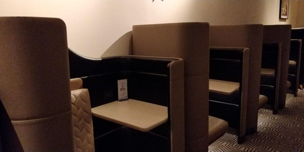 Singapore Airlines SilverKris Lounge Bangkok Layout 3