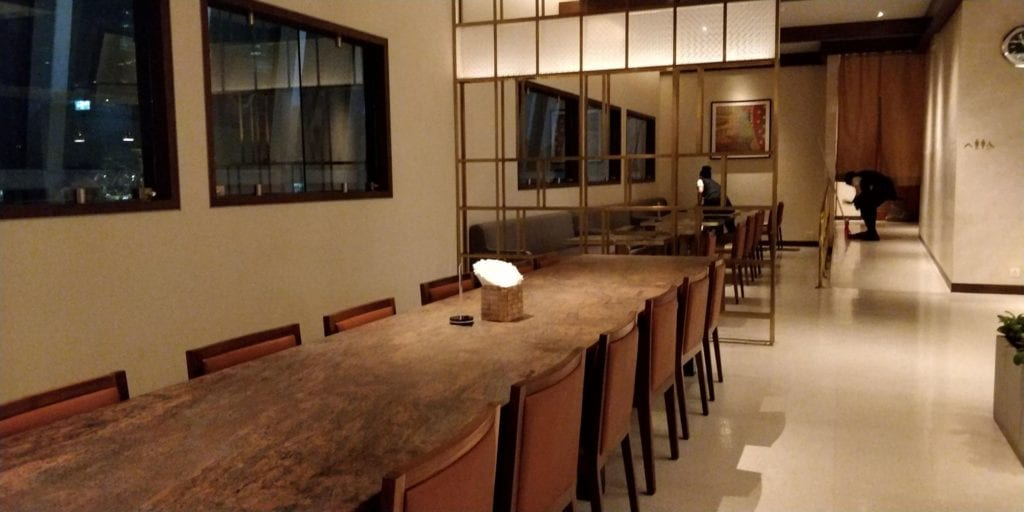 Singapore Airlines SilverKris Lounge Bangkok Layout 4