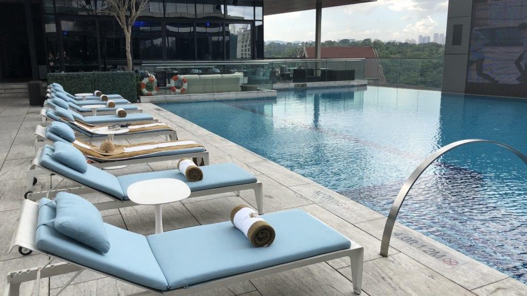 St Regis Kuala Lumpur Pool 2