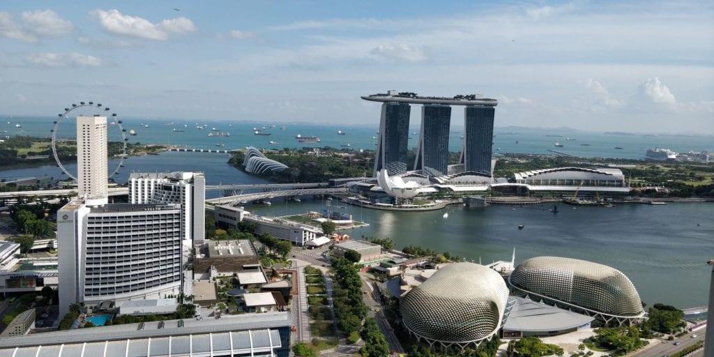Swissotel The Stamford Singapur Ausblick