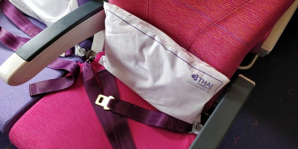 Thai Airways Economy Class Kurzstrecke Sitz 4