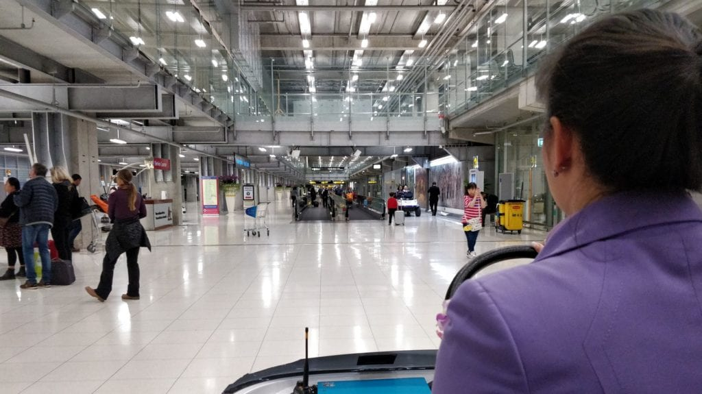 Thai Airways First Class Bangkok Service