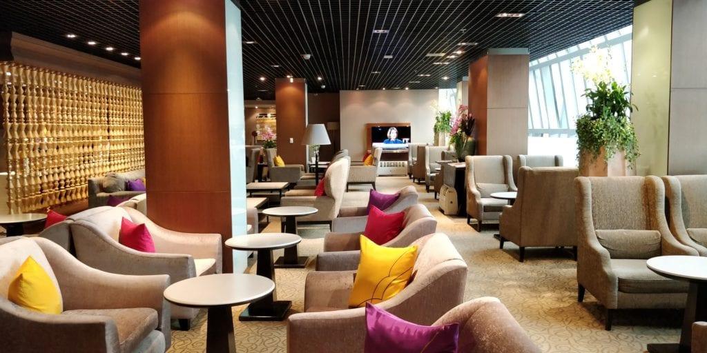 Thai Airways First Class Lounge Bangkok