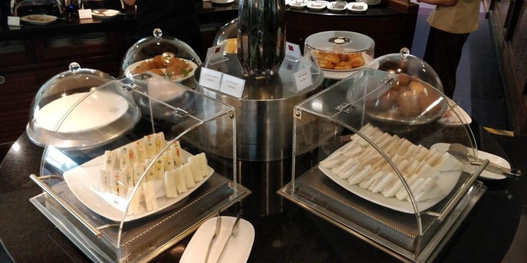 Thai Airways Royal Silk Lounge Bangkok Buffet 5