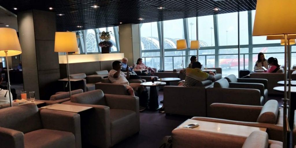 Thai Airways Royal Silk Lounge Bangkok Layout 1