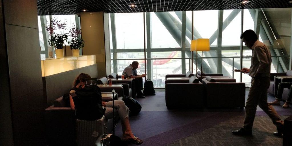 Thai Airways Royal Silk Lounge Bangkok Layout 2