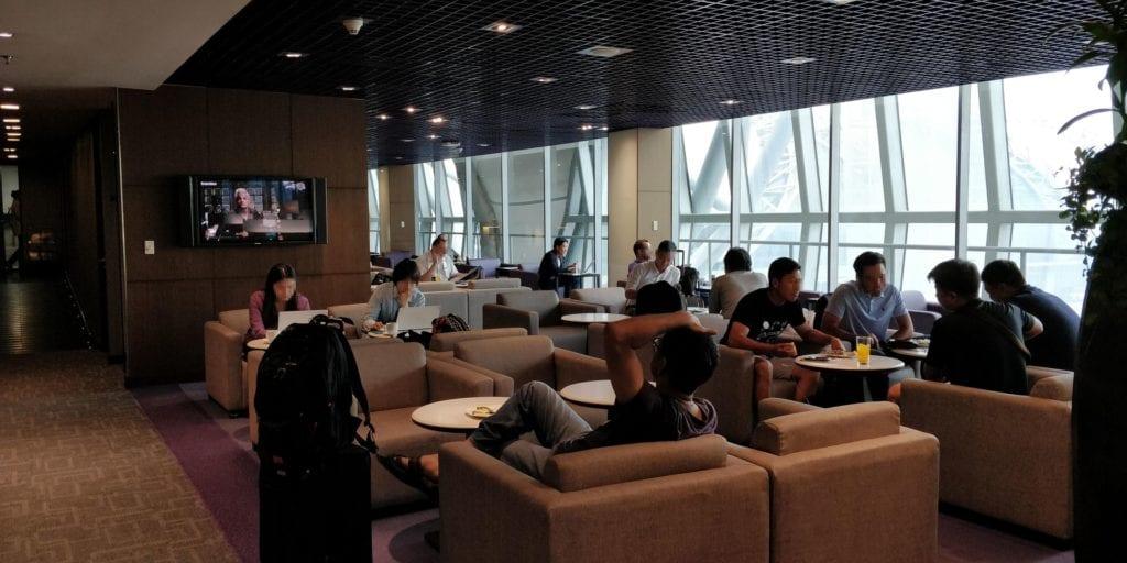 Thai Airways Royal Silk Lounge Bangkok Layout 3