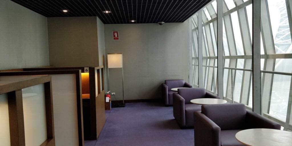 Thai Airways Royal Silk Lounge Bangkok Layout 4