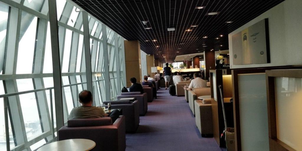 Thai Airways Royal Silk Lounge Bangkok Layout 6