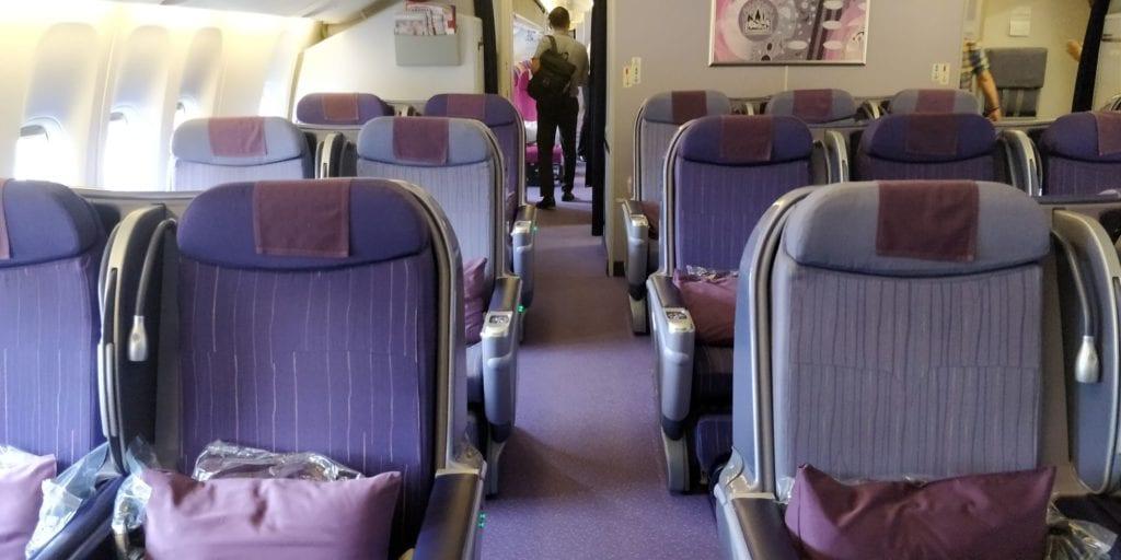 Thai Airwaysu Business Class Mittelstrecke