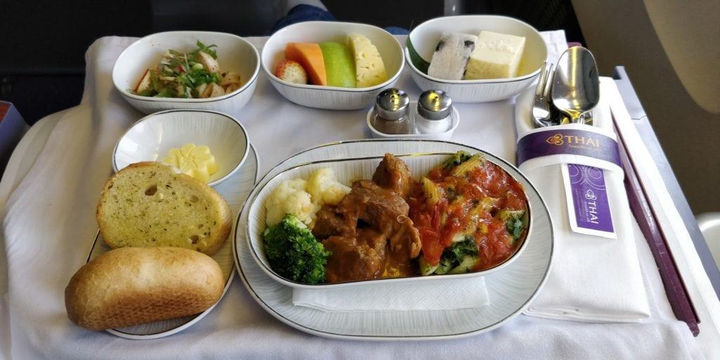 Thai Airwaysu Business Class Mittelstrecke 2