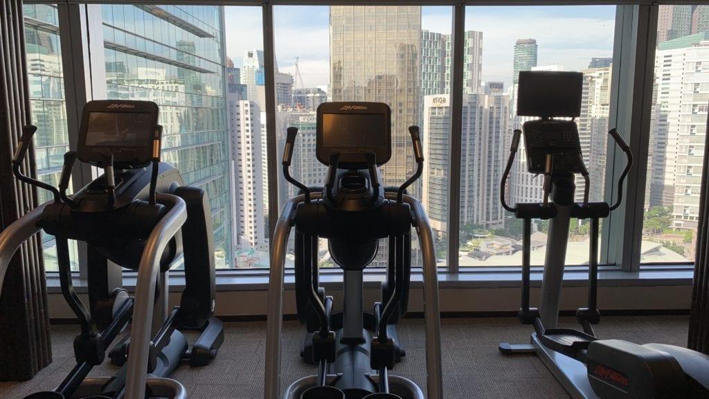 Traders Hotel Kuala Lumpur Fitness 1