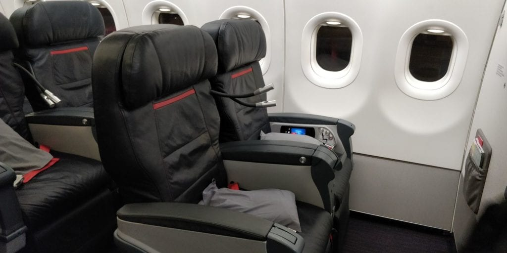 Turkish Airlines Business Class Airbus A321 Sitz