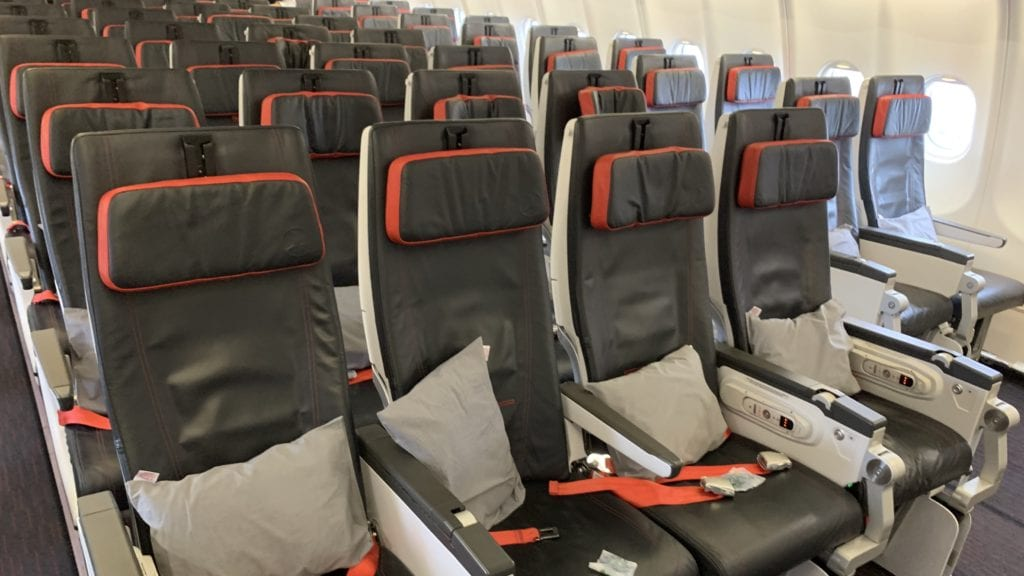 Turkish Airlines Economy Class Airbus A330 Sitze 5