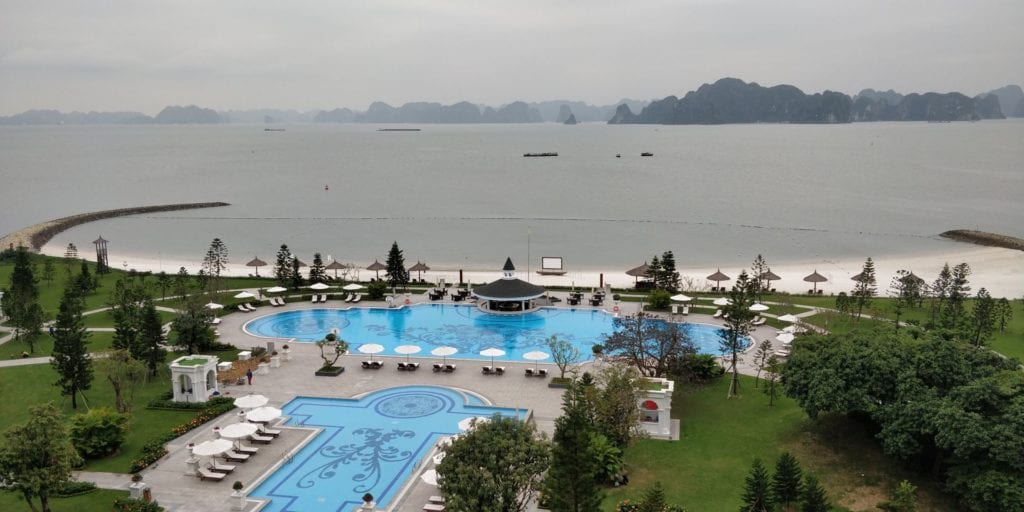Vinpearl Resort Ha Long Bay Ausblick