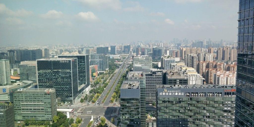 Waldorf Astoria Chengdu Ausblick