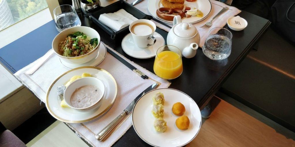 Waldorf Astoria Chengdu Frühstück 2