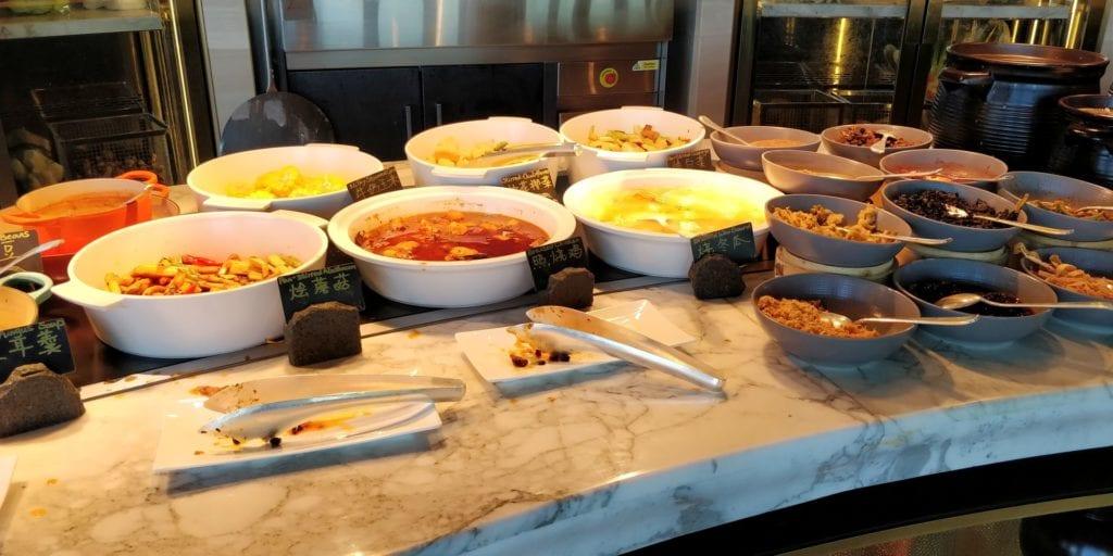 Waldorf Astoria Chengdu Frühstück 4