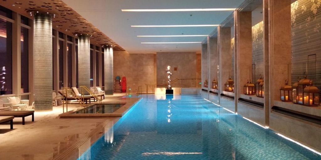 Waldorf Astoria Chengdu Pool 2