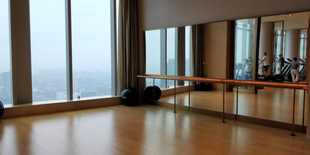 Waldorf Astoria Chengdu Room Fitness 3
