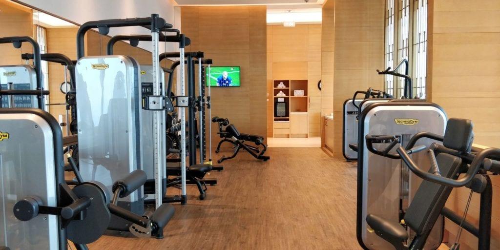 Waldorf Astoria Chengdu Room Fitness 4
