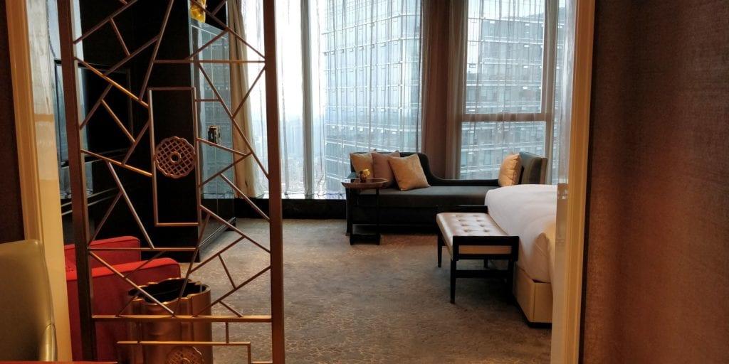 Waldorf Astoria Chengdu Zimmer 8