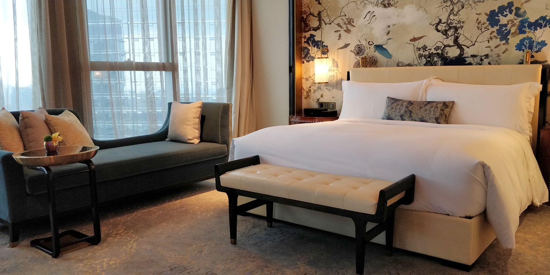 Waldorf Astoria Chengdu Zimmer