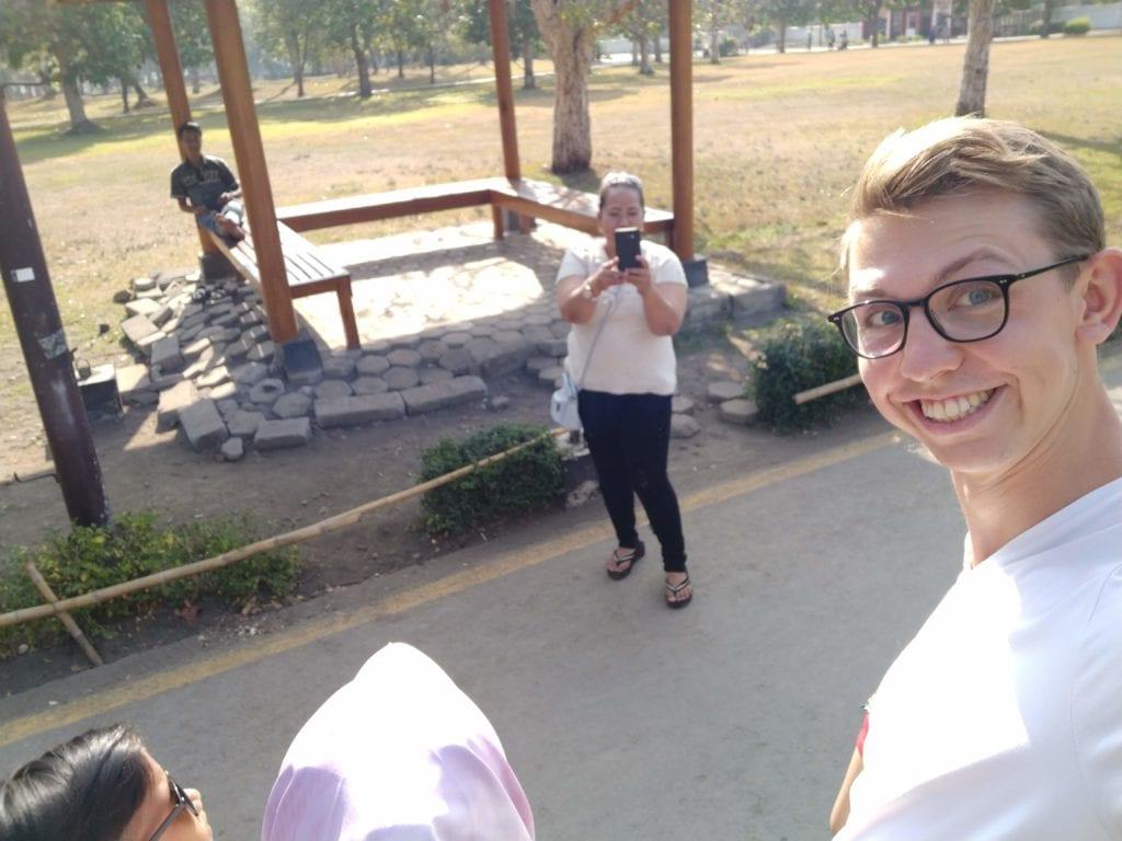 Yogyakarta Selfie Einheimische